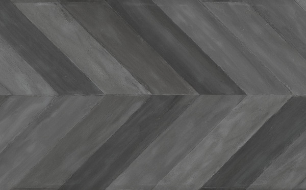 Maiolica Grey Chevron