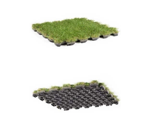Iarba artificiala modulara-Roofingreen leaf