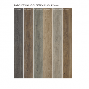 Parchet vinilic-LVT (luxury vinyl tiles)-Dakota