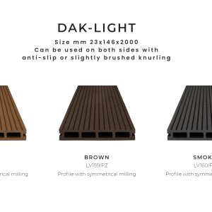 Deck WPC-Dak Light